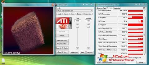 截图 ATITool Windows 7