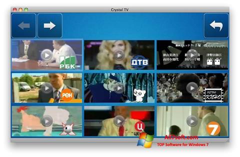 截图 Crystal TV Windows 7