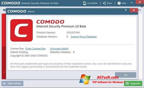 截图 Comodo Windows 7