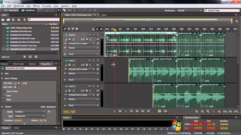 截图 Adobe Audition CC Windows 7