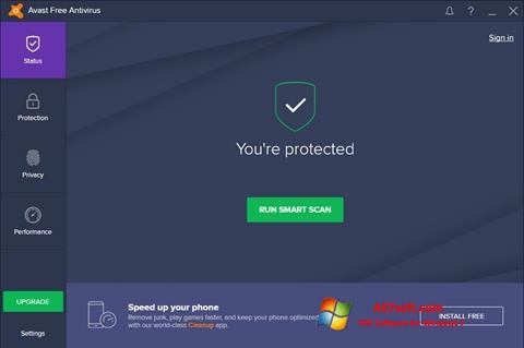 截图 Avast Free Antivirus Windows 7