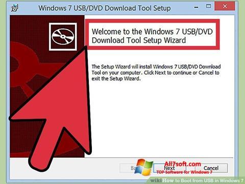 截图 Windows 7 USB DVD Download Tool Windows 7