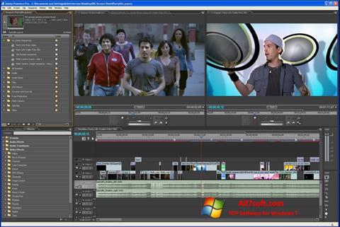 截图 Adobe Premiere Pro Windows 7
