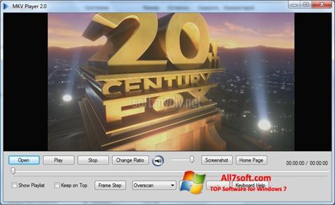截图 MKV Player Windows 7
