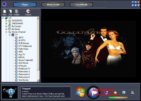截图 Online TV Live Windows 7