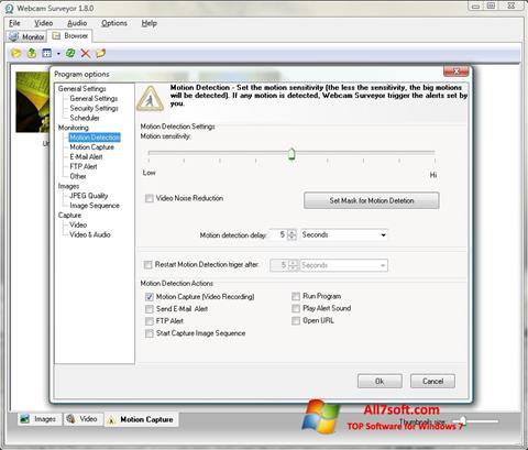 截图 Webcam Surveyor Windows 7
