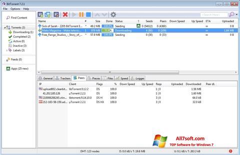 截图 BitTorrent Windows 7