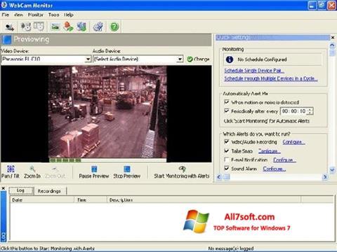 截图 WebCam Monitor Windows 7