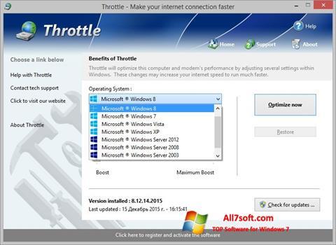 截图 Throttle Windows 7