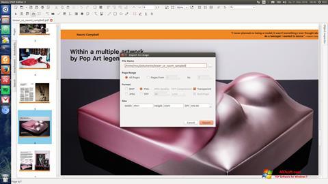 截图 Master PDF Editor Windows 7