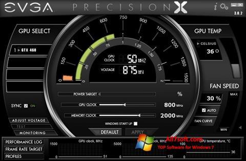 截图 EVGA Precision X Windows 7
