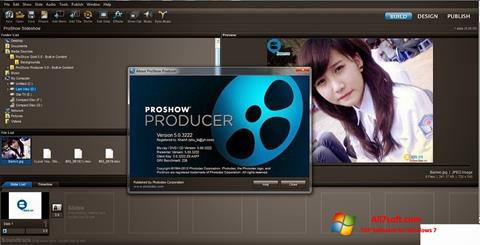 截图 ProShow Producer Windows 7