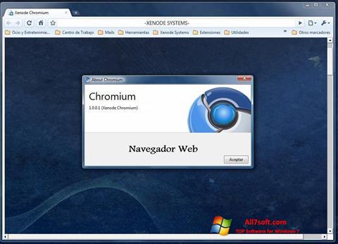 截图 Chromium Windows 7