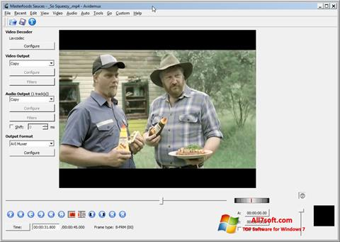 截图 Avidemux Windows 7