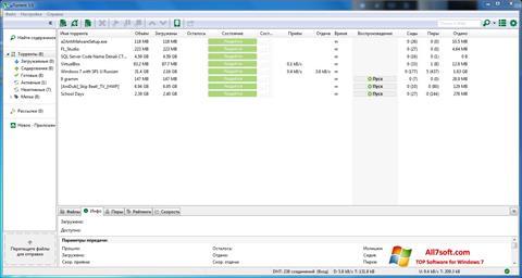 截图 uTorrent Windows 7
