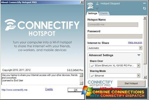 截图 Connectify Windows 7