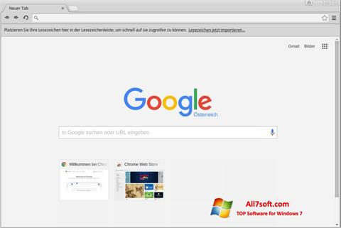 截图 Google Chrome Windows 7