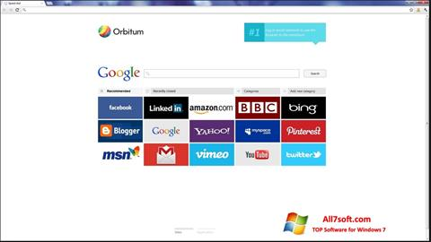截图 Orbitum Windows 7