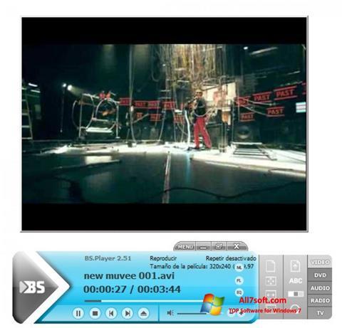 截图 BSPlayer Windows 7