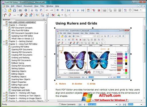 截图 Foxit Advanced PDF Editor Windows 7