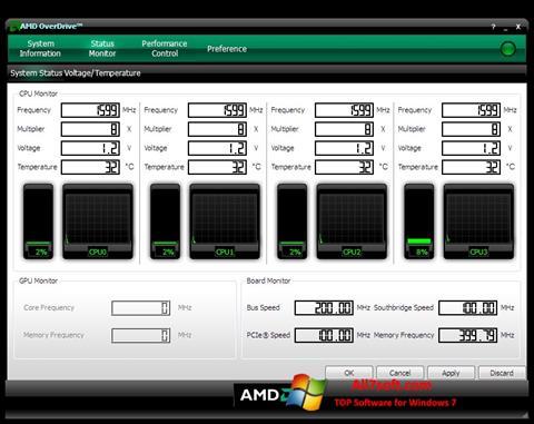 截图 AMD Overdrive Windows 7