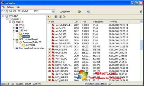 截图 IsoBuster Windows 7