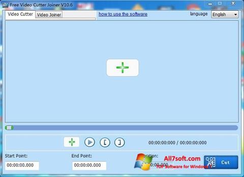 截图 Free Video Cutter Windows 7