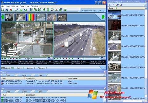 截图 Active WebCam Windows 7